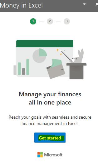 Money en Excel. El futuro de la administración personal en hojas de trabajo.