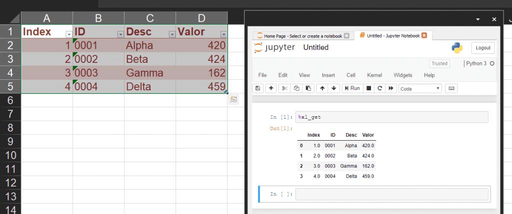 Python Jupyter Excel  2